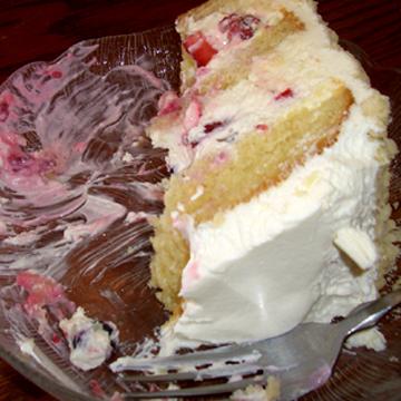 Jeanine cake from Taste of Heaven in Andersonville. Best. Cake. EVER.