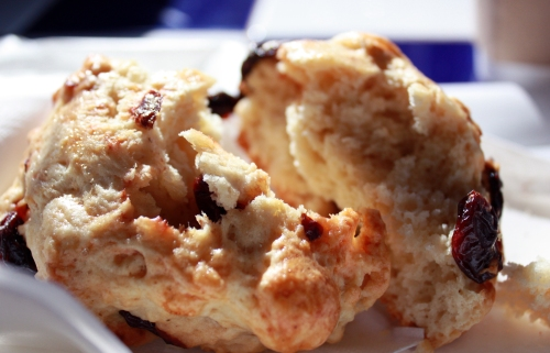 Cherry Scone from Taste of Heaven.