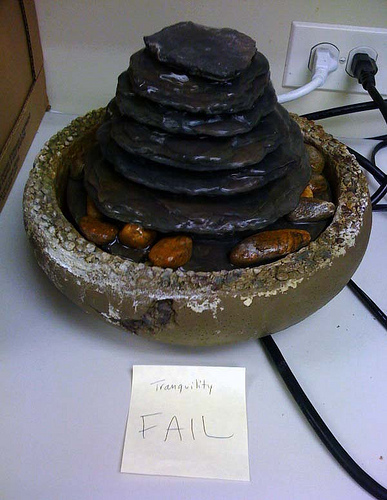 HA. I DIED LAUGHING when I saw this. This is from my office. Click image for the full story.