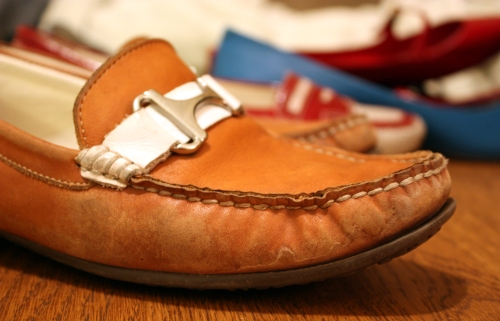They really are the best pair. I will probably still wear them. Rockport makes good stuff.
