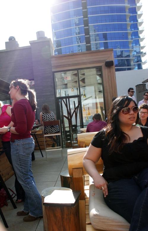 It is roof deck/patio season.