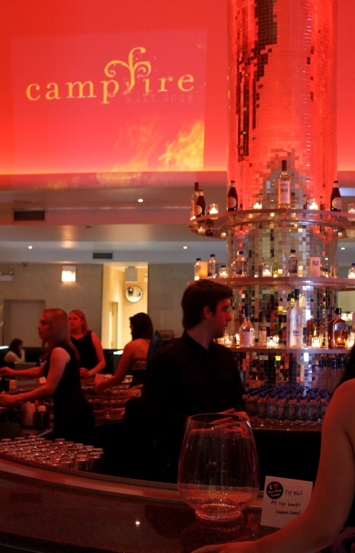 This was the celebrity bartender area. I got to meet Pat Tomasulo from WGN morning news. Yay!