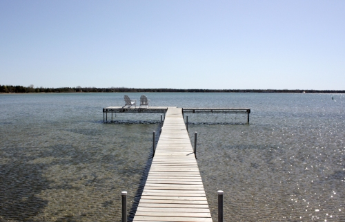 The Inn's dock.