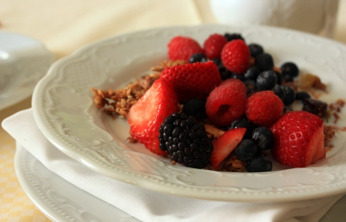 """Another """"best"""" to add to the list. This granola changed my life. I may never be satisfied by breakfast cereal again."""